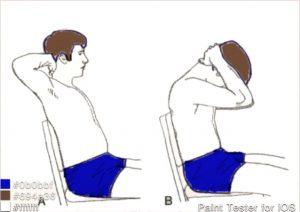 تمرینات متحرک کننده قفسه سینه فوقانی و کشش عضلات سینه ای