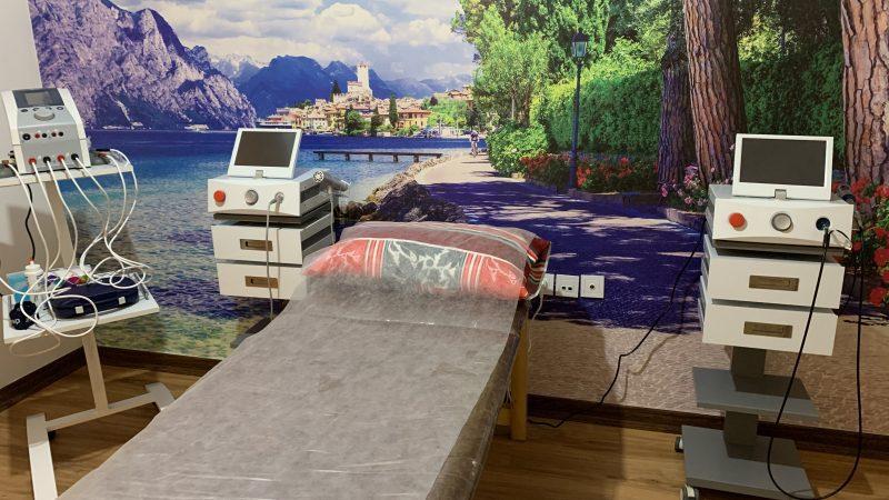 راه اندازی اتاق( vip) شاک ویو و لیزر پرتوان